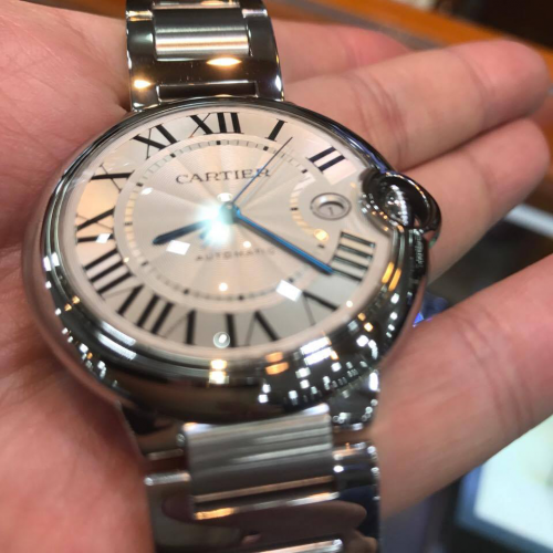 Cartier priced about $5000-$10 000. Source: Novatime Lab.