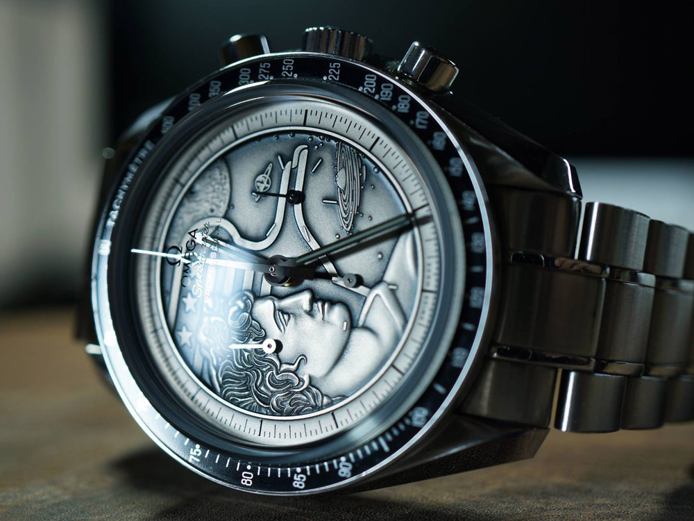 Moonwatch Apollo Xvii 40th Anniversary Honouring Steps To The Moon